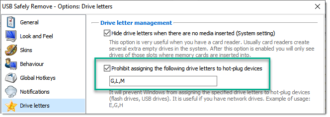 How to assign letter to drive